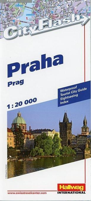 Prag (Praha) 1 : 20 000. City Flash als Buch
