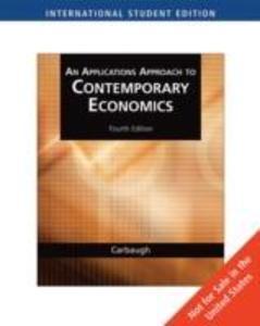 Contemporary Economics als Buch