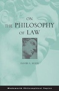 On the Philosophy of Law