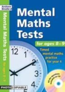 Mental Maths Tests for Ages 8-9 als Buch