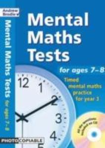 Mental Maths Tests for Ages 7-8 als Buch