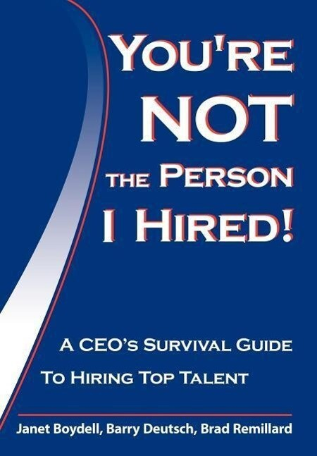 You're Not the Person I Hired! als Buch