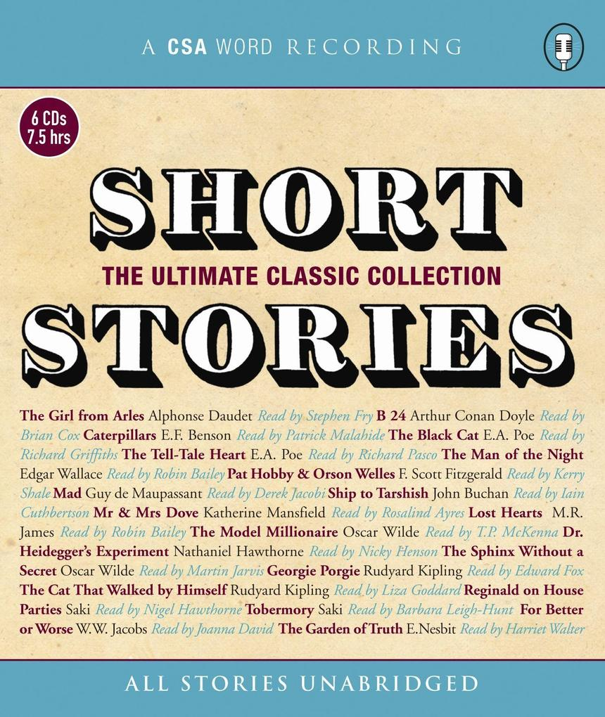 Short Stories - The Ultimate Classic Collection als Hörbuch