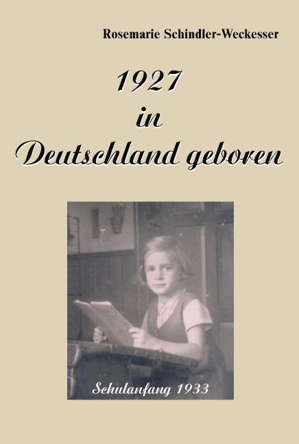 1927 in Deutschland geboren als Buch