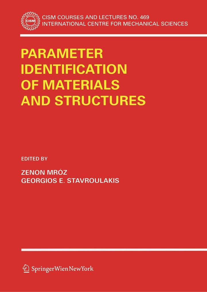 Parameter Identification of Materials and Structures als Buch