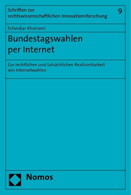 Bundestagswahlen per Internet als Buch