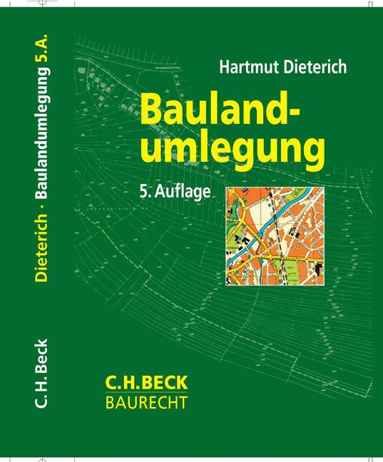 Baulandumlegung als Buch