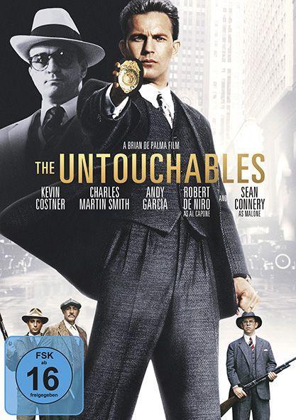 The Untouchables - Die Unbestechlichen als DVD