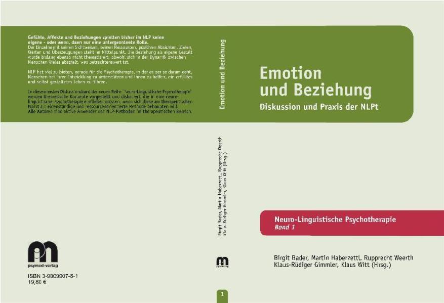 Emotion und Beziehung als Buch