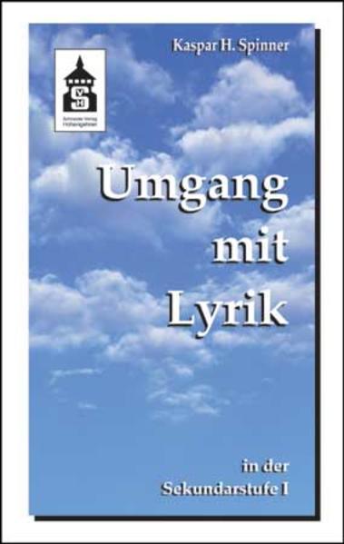 Umgang mit Lyrik in der Sekundarstufe I als Buch