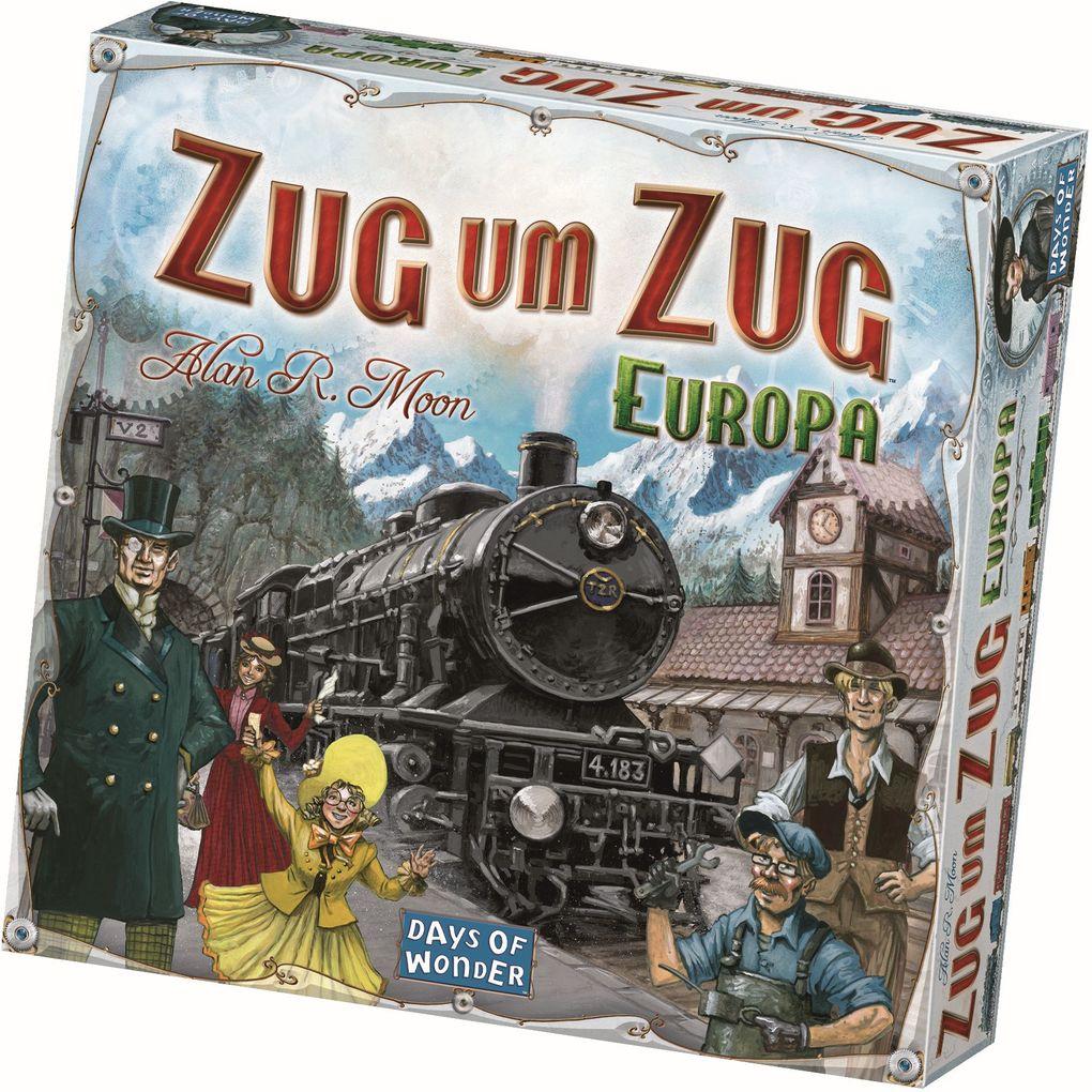 Days of Wonder - Zug um Zug Europa als Spielwaren