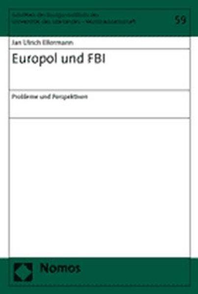 Europol und FBI als Buch