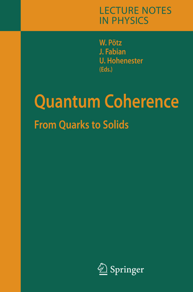 Quantum Coherence als Buch