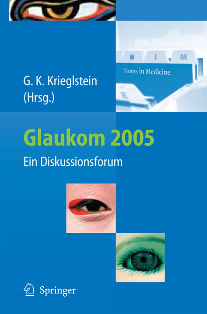 Glaukom 2005 als Buch