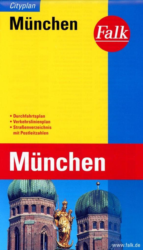 Falk Cityplan München 1 : 20 000 als Buch