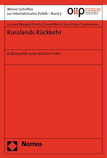 Russlands Rückkehr als Buch