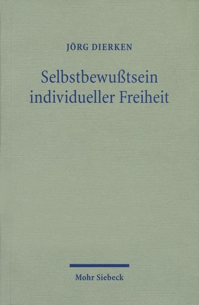 Selbstbewußtsein individueller Freiheit als Buch