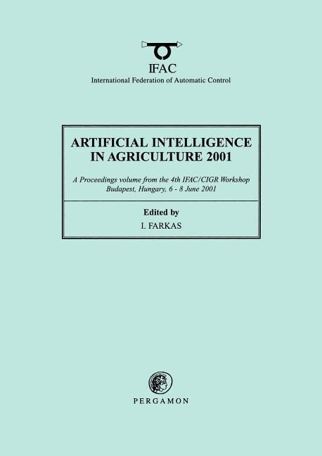 Artificial Intelligence in Agriculture 2001 als Taschenbuch