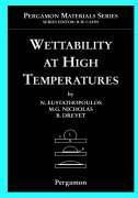 Wettability at High Temperatures als Buch