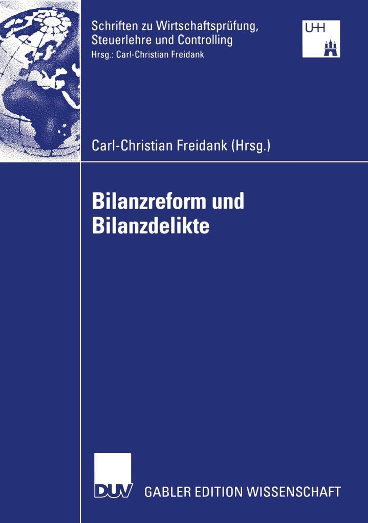 Bilanzreform und Bilanzdelikte als Buch