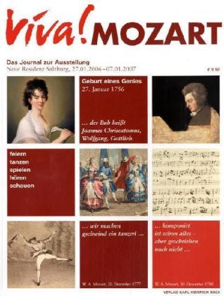Viva! Mozart als Buch