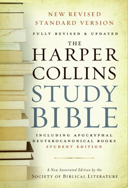 HarperCollins Study Bible-NRSV-Student als Taschenbuch