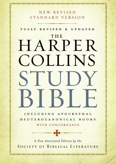 HarperCollins Study Bible-NRSV als Buch