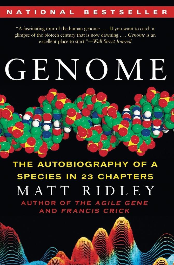Genome als Buch