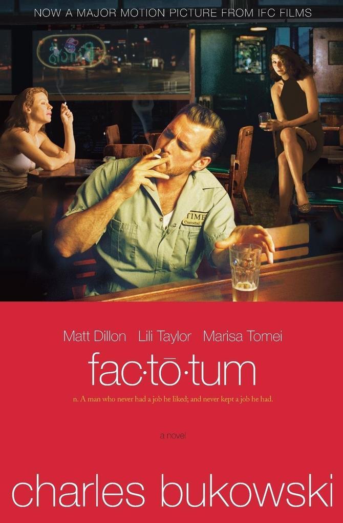 Factotum tie-in als Buch