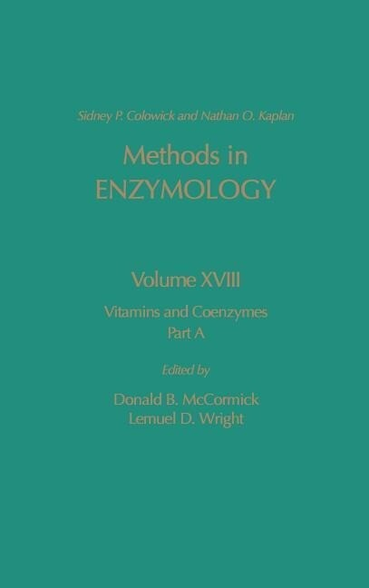 Vitamins and Coenzymes, Part a als Buch