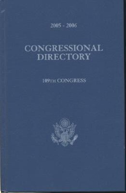 Official Congressional Directory, 2005-2006: 109th Congress als Buch
