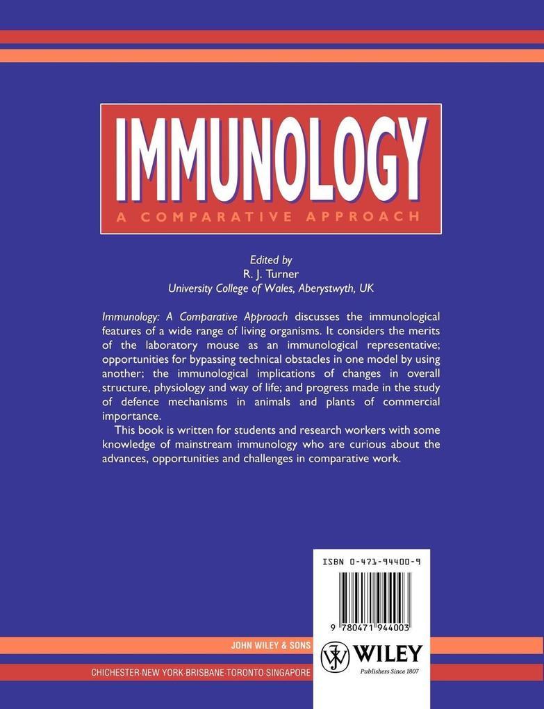 Immunology als Taschenbuch