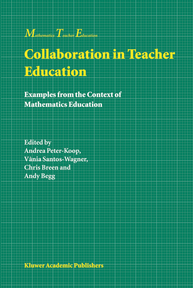Collaboration in Teacher Education als Buch