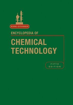 Kirk-Othmer Encyclopedia of Chemical Technology, Volume 26 als Buch