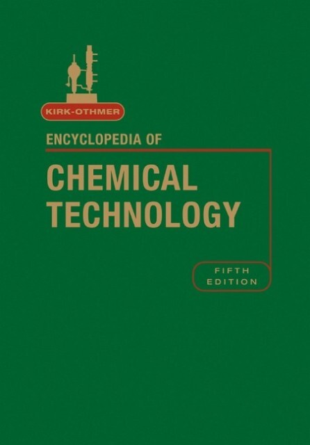 Kirk-Othmer Encyclopedia of Chemical Technology, Volume 20 als Buch