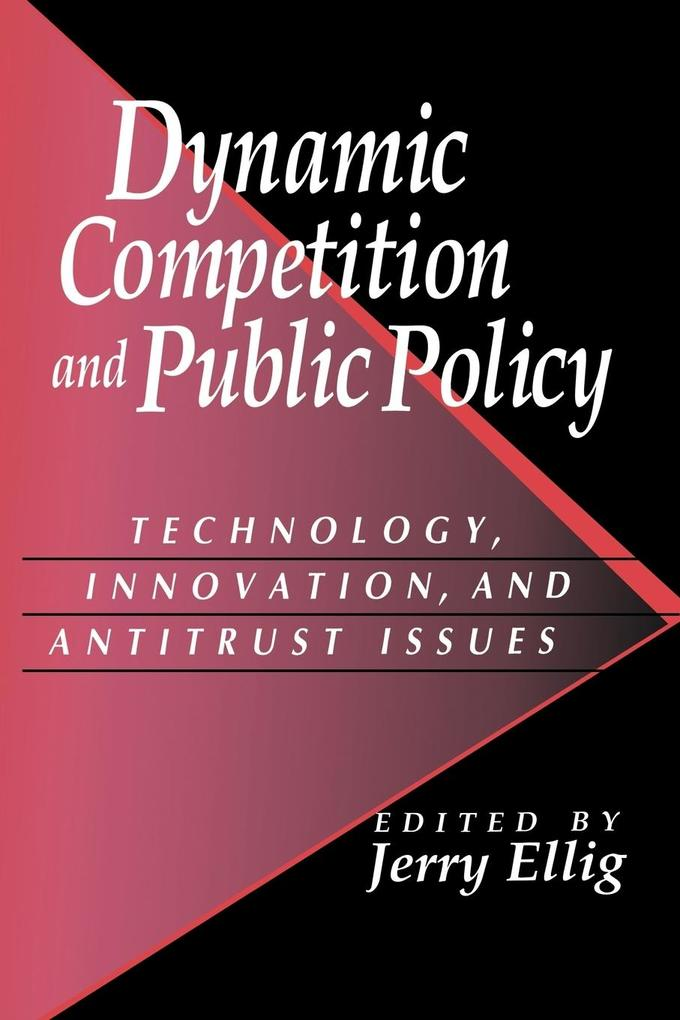 Dynamic Competition and Public Policy: Technology, Innovation, and Antitrust Issues als Buch