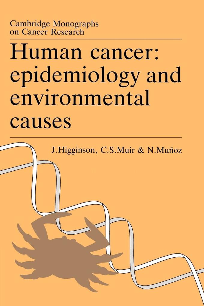 Human Cancer: Epidemiology and Environmental Causes als Buch