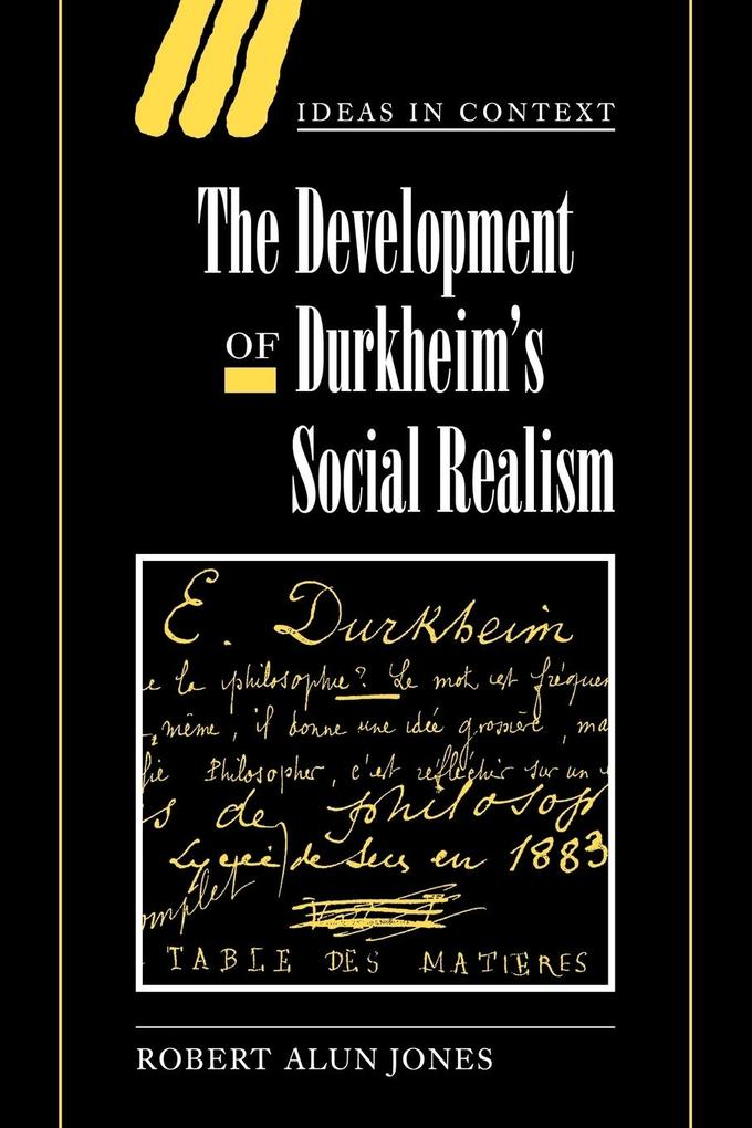 The Development of Durkheim's Social Realism als Buch