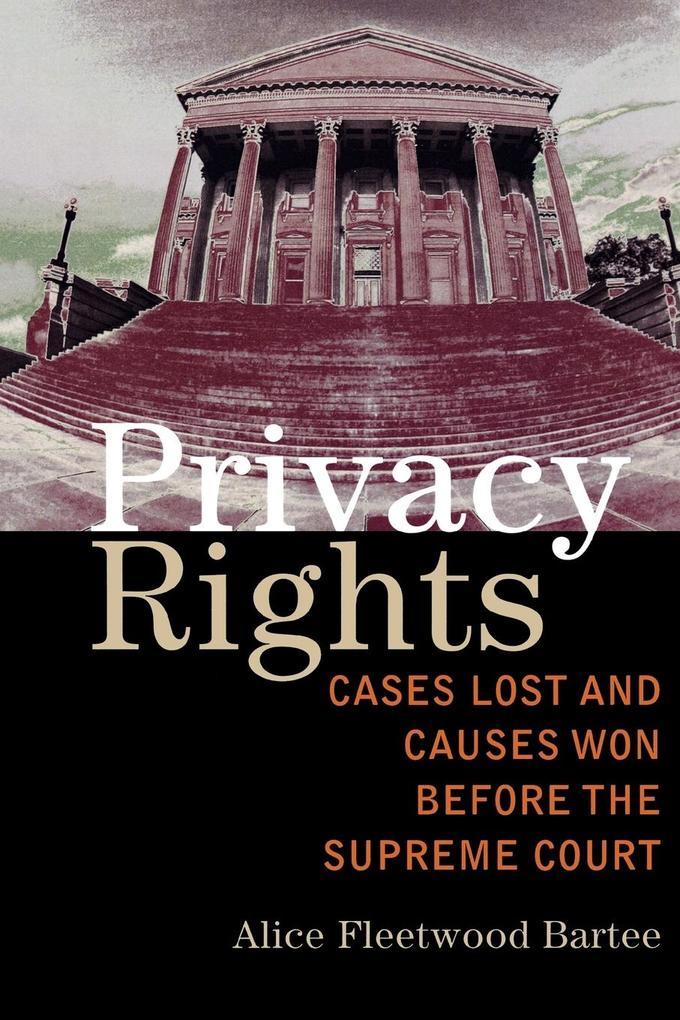 Privacy Rights als Taschenbuch