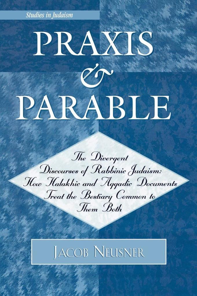 Praxis and Parable als Taschenbuch