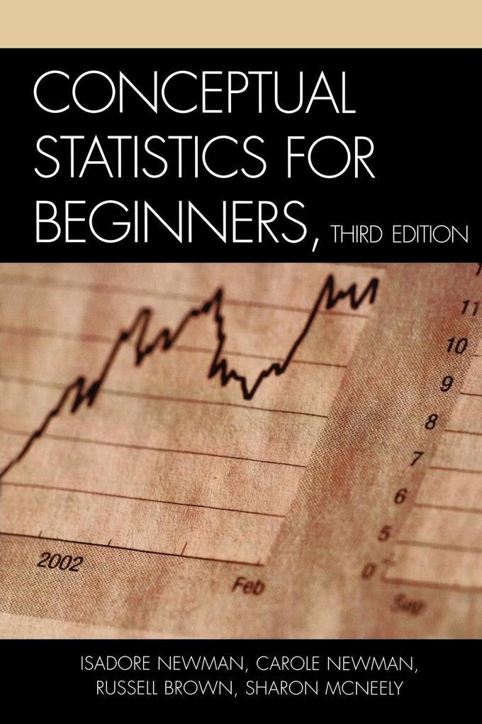 Conceptual Statistics for Beginners als Taschenbuch
