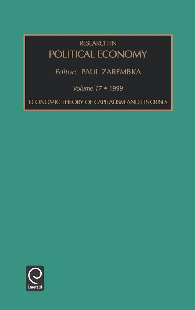 Research in Political Economy V17research in Political Economy (Rpec) als Buch