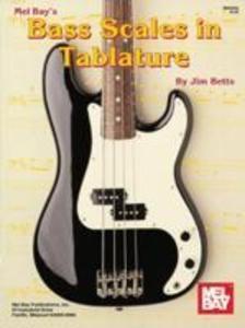 Mel Bay's Bass Scales in Tablature als Taschenbuch