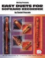 Mel Bay Presents Easy Duets for Soprano Recorder als Taschenbuch