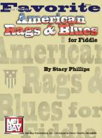 Mel Bay Presents Favorite American Rags & Blues for Fiddle als Taschenbuch