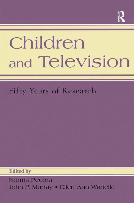 Children and Television: Fifty Years of Research als Taschenbuch