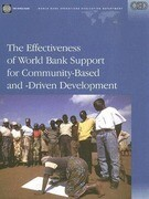 The Effectiveness of World Bank Support for Community-Based and -Driven Development: An Oed Evaluation