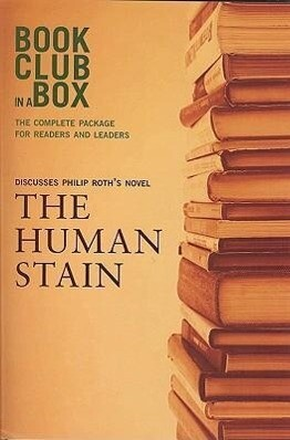 """Bookclub-in-a-Box"" Discusses the Novel ""The Human Stain"" als Taschenbuch"