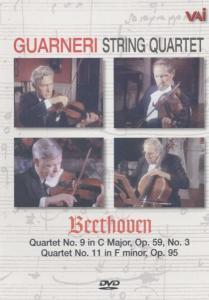 Streichquartette 9 + 11 als DVD