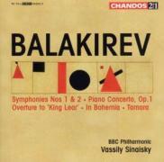 Sinfonien 1+2/Klavierkonzert/+ als CD